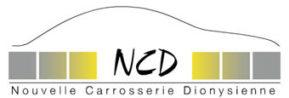 LOGO GARAGES NCD GROUPE RÉUNION NOUVELLE CARROSSERIE DYONISIENNE PEINTURE RÉPARATION ENTRETIEN